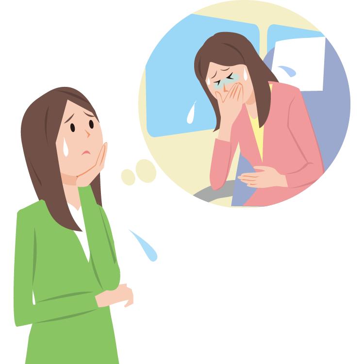 乗り物酔いの原因 症状疾患ナビ タケダ健康サイト